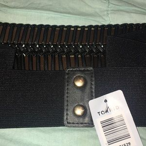 torrid Accessories - ✨NWT✨ Stretchy Black Belt from Torrid - Size 3